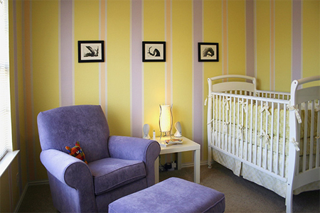 Tips for Painting your Nursery