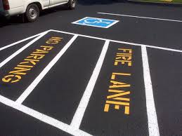 Boulder Parking Lot Striping